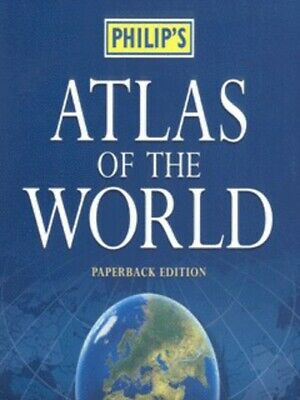 Philip's atlas of the world by Royal Geographical Society (Paperback / softback)