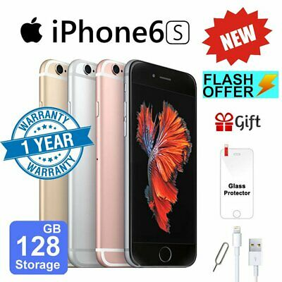 NEW Apple iPhone 6s 16GB 32GB 64GB 128GB Factory Unlocked Smartphone Plus Gift