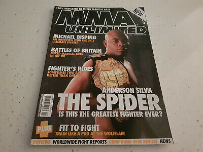 MMA Unlimited Magazine   Issue 1   2008    Anderson Silva    UFC MMA