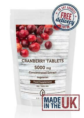 Cranberry Juice 5000mg Extract Salicylic Acid Tablets Pills Health Supplements