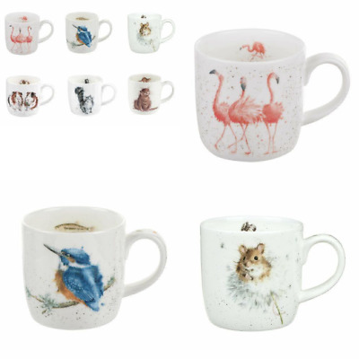 Set of 6 Assorted Designs Group 2 Wrendale Mugs