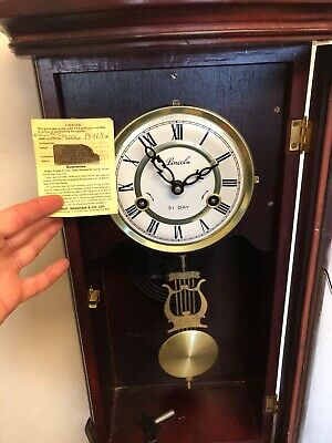 lincoln wall clock antique