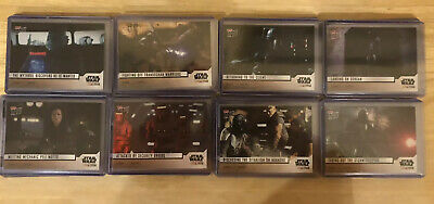 2019 TOPPS NOW STAR WARS THE MANDALORIAN COMPLETE 40 Card Set. 553 Made