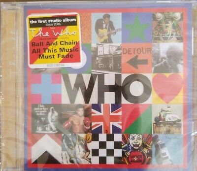"""WHO"" CD  BY THE WHO December 2019 Release NEW Unopened FREE SHIPPING"