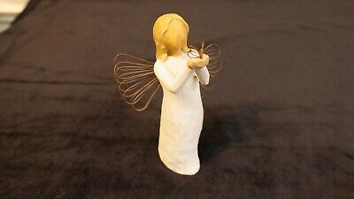 "Willow Tree Ornament Figure ""Angel Of Freedom."""