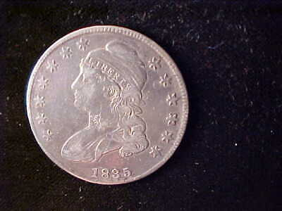 Bust 50 Cents 1835 Corrosion