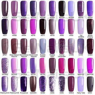 Bluesky MOST WANTED PURPLE Collection UV LED Soak Off Nail Polish Gel Polish