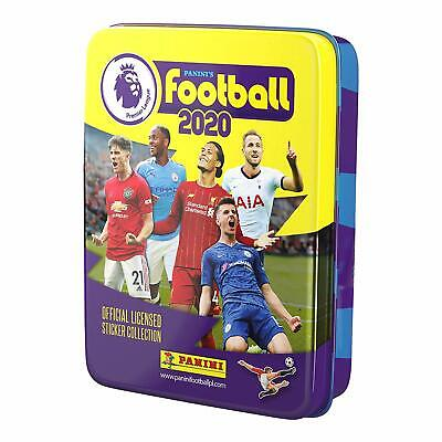 Panini Football 2020 Premier League Sticker Collection Pocket Tin With 10 Packs