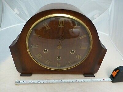 Vintage Smiths Westminster Chime Mantel Clock for spares/repairs/parts