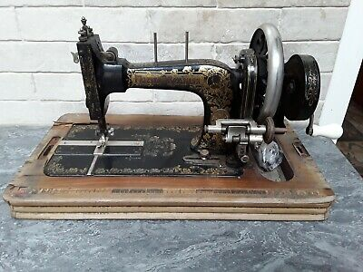 Antique, 1909, Frister and Rossmann High Arm TS Mk IV Sewing Machine