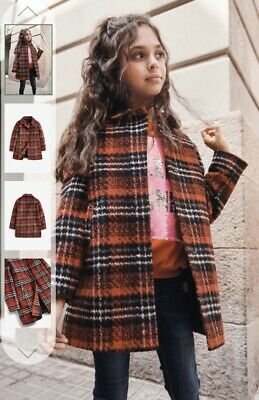 Older Girls Red Wool Next Coat Age 12 Years Current Stock