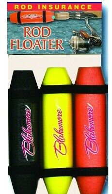 Blakemore Rod Floaters 6 In Asstorted//Black//Yellow//Orange 3//Pk 436