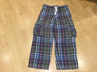 boys mini boden brushed 100% cotton baggies age 8 years