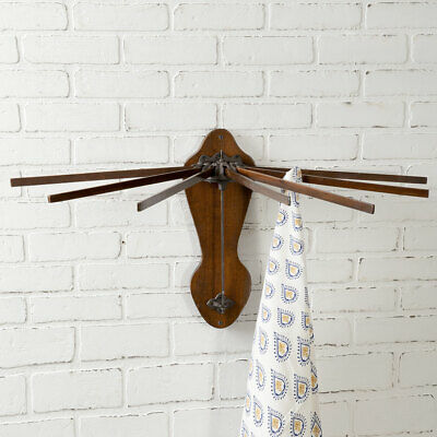 Wooden Wall Mounted new primitive Drying Rack -Sale