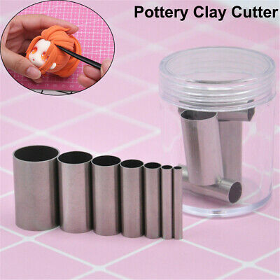 Ceramic Circular Cutting Mold Pottery Clay Cutter Model Cloth Line Pottery Tool