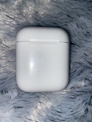 Genuine Apple AirPods Charging Case Only 2nd Generation Gen White Charger Pods