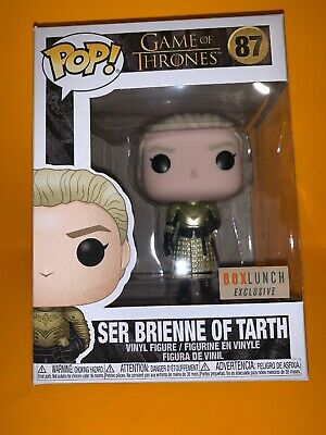 Funko Pop Game of Thrones #87 Ser Brienne of Tarth Box Lunch Exclusive