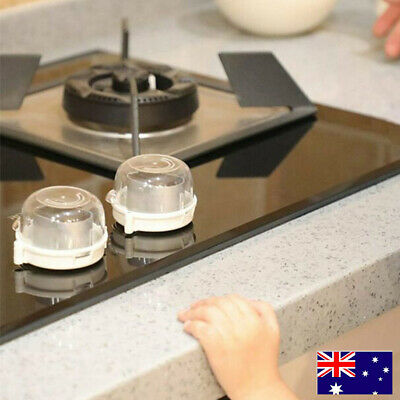 AU Child Baby Safety Guard Lock Kitchen Cooker Gas Oven Stove Knob Cover Shield