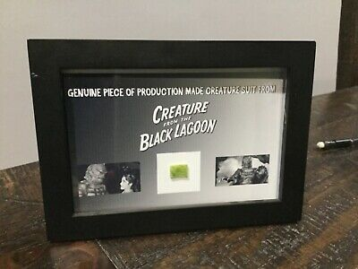 ACTUAL PROP PIECE OF CREATURE FROM THE BLACK LAGOON W/Letter Of Merit