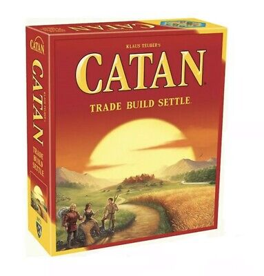 Catan Standard Board Game, New Settlers of Catan--Free Shipping From USA