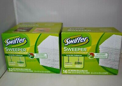 Swiffer Sweeper Dry Mop Pad Refills Floor Cleaning 48 Count / SEALED