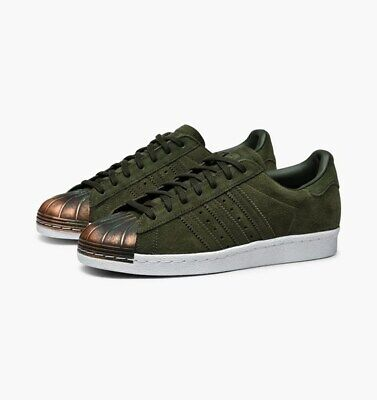 adidas Superstar 80s MT Women's Leather Trainers Shoes CQ3105 Green UK Size 9