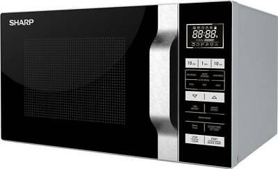 SHARP R760SLM NEW 23L 900W Digital Control Microwave Oven With Quartz Grill