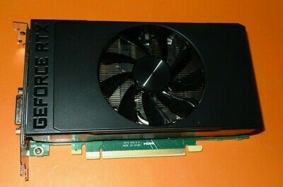 Genuine Nvidia Geforce RTX 2060 6GB Graphics Card Dell 6CTH3