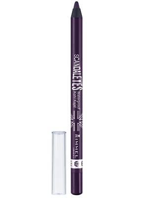 Rimmel Eyeliner Pencil Waterproof Scandaleyes Kohl - Purple 013
