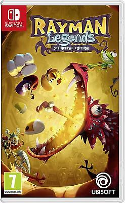 Rayman Legends Definitive Edition - nintendo Interrupteur - Neuf / Scellé - GB