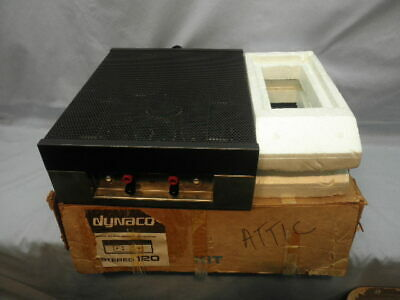 <>1966 DYNACO STEREO 120 Solid State Power Amplifier in Original Box-Tested-NR<>