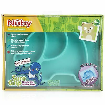 Nuby Sure Grip Elephant Silicone Placemat