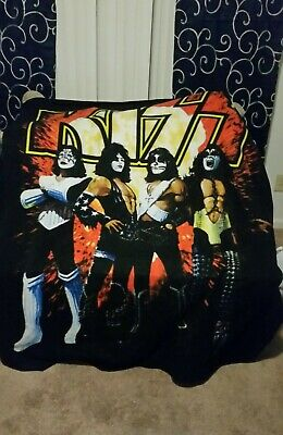 Kiss Rock Band KISS ARMY Lightweight Polar Fleece Throw Blanket