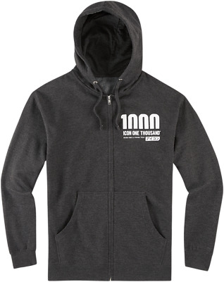 Icon1000 Vertixal Hoody - Charcoal / All Sizes