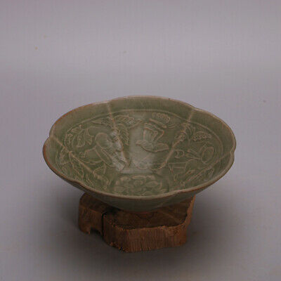 Chinese ancient antique hand make bowl Porcelain decoration a180
