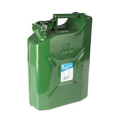Silverline 563474 Jerry Can 10 Litre Fuel Storage Container for Petrol/Diesel
