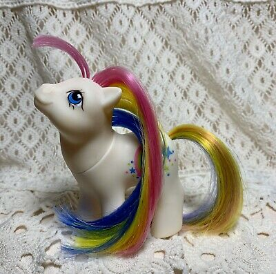 Vintage G1  My Little Pony Rainbow Baby STARBOW. Hard To Find !