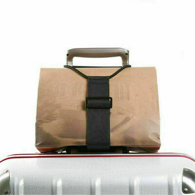 4M Travel Add-A-Bag Luggage Strap Jacket Gripper Strap Baggage Suitcase Buckle
