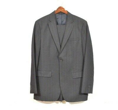 Banana Republic 42L 33 x 34 Navy Blue Modern Fit 2 Button Suit