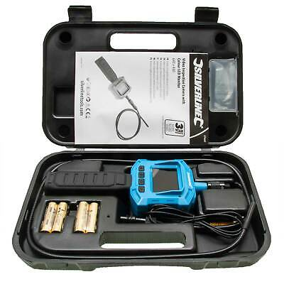 Silverline Video Inspection Camera with Colour LCD Monitor Flexible Waterproof