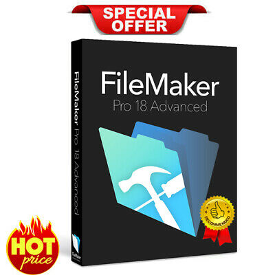 FileMaker Pro 18 Advanced | Official Version | Lifetime License Key 🔥INSTANT 🔥