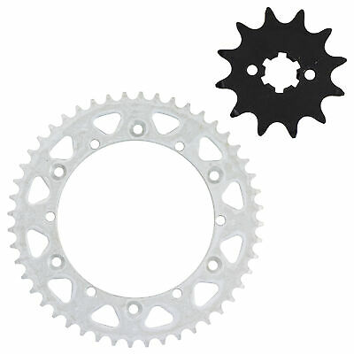 NICHE 520 Front 12T & Rear 48T Drive Sprocket Kit 1980-1983 Yamaha YZ125