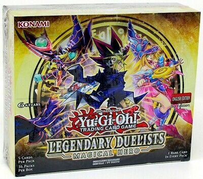 Yugioh Legendary Duelists Magical Hero Booster Box Blowout Cards