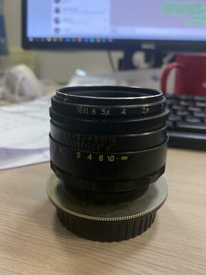 Helios 44-2 58 mm f/2 M42 Boke Lens for Canon, Nikon and other cameras