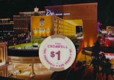 The Cromwell Hotel Casino - $1 Gaming Chip - Vegas - Formerly Bill's / Barbary