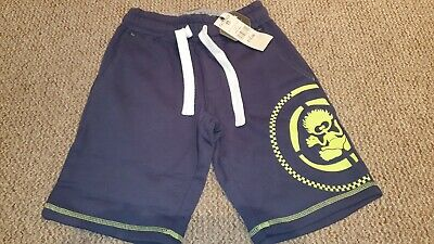 SALTROCK - Boys Sweat Shorts - Dark Blue - Age 7/8