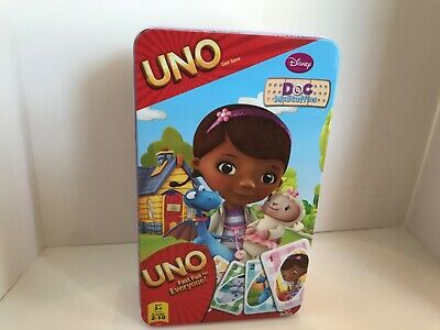 Uno Doc McStuffins Card Game In Tin