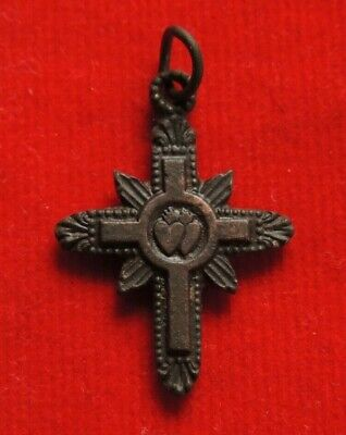 Ancient bronze rare cross of very good condition
