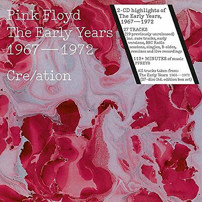 The Early Years 1967 1972 Creation - Pink Floyd 2 CD Set Sealed ! New !