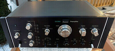 1978 Sansui CA-2000 Preamplifier Amp Stereo